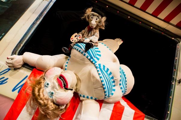 Seaside Terror by Odd Doll Puppetry