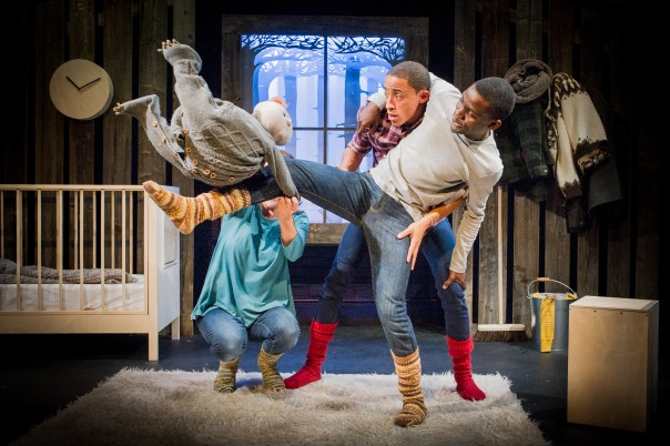 Beasty Baby - A Theatre-Rites and Polka Theatre co-production - 14 October 2015 Director - Sue Buckmaster and devised with the company Designer - Verity Quinn Composer - Jessica Dannheisser
